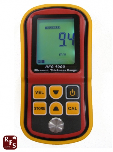 Thickness gauge has many features