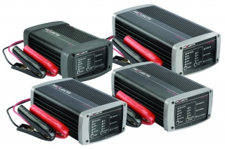 Battery chargers more intelligent and much more practical