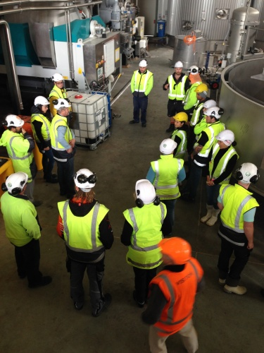 Manufacturing qualifications help leading winemaker build team's skills
