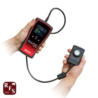 AccuPRO UV and white light meter combine sensors