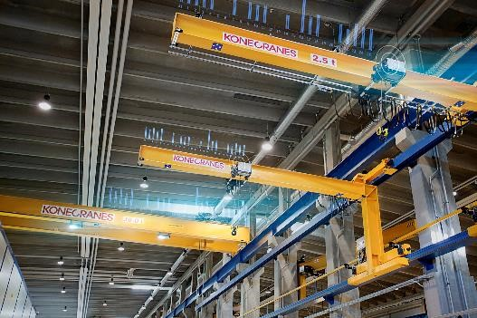 Konecranes real time monitoring for lifecycle care
