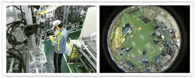 Image analysis system detects facilities failures