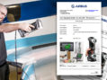 Creaform HandySCAN 3D scanner now certified by Airbus
