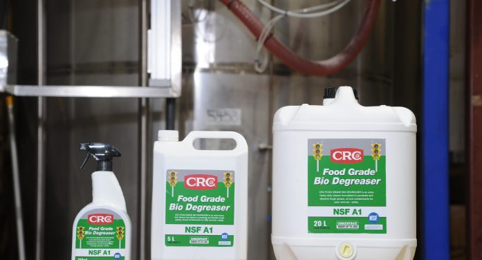 CRC launches new food grade bio-degreaser
