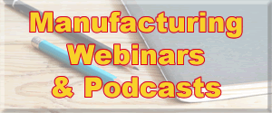Current and past Webinars relevant to manufacturing in New Zealand.