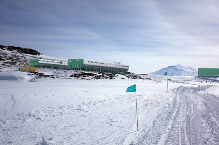 A Green Building on the White Continent