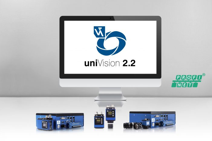 uniVision 2.2: Image processing software receives PROFINET interface