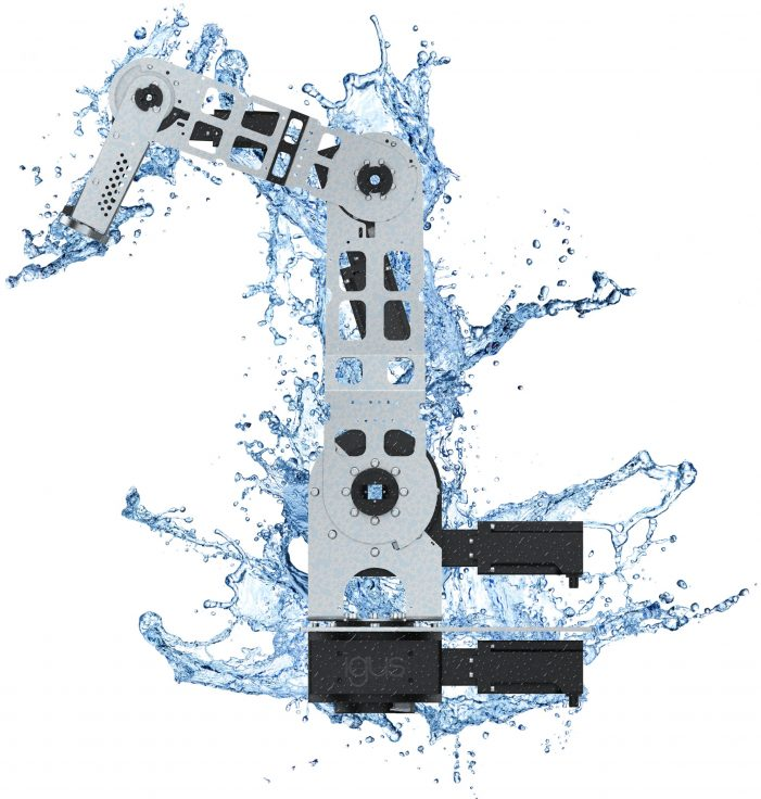 igus robolink IP44: a robot that defies wet elements